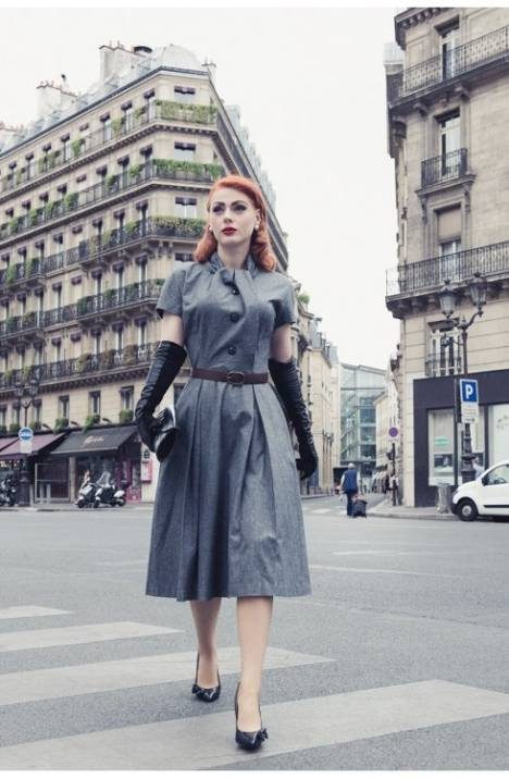 dress-la-parisienne-grey-flannel